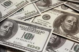 honderd dollar, geld foto