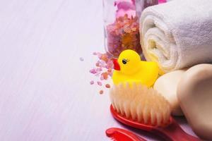 accessoires voor het baden van het kind foto