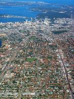 luchtfoto van de stad Perth 1 foto