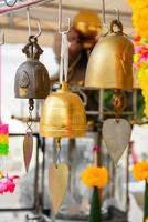 boeddhistische klokken, thailand foto