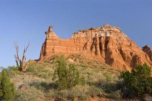 Capitol piek in Palo Duro Canyon