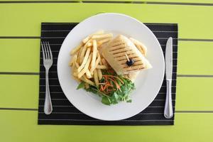 restaurant menu foto