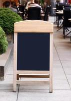 menu krijtbord foto