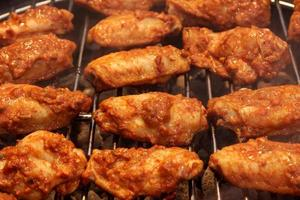 buffalo chicken wings achtergrond