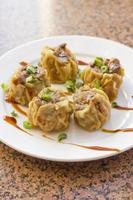 Chinese dim sum dumplings