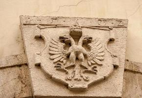 dubbelkoppige adelaar symbool foto