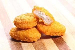 gebakken nuggets foto