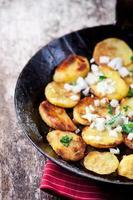 gefrituurde aardappelen foto