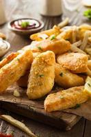 krokante fish and chips