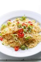 nacho's met kaas en chili foto