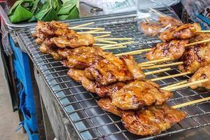 grill varkensvlees foto