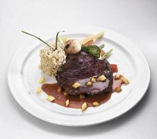 struisvogel steak foto