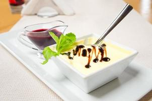 Catalaanse crème brulee foto