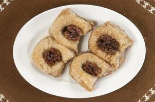baklava met walnoot foto