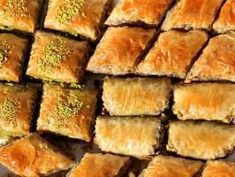 heerlijke Turkse baklava foto