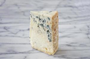 wig van blauwe kaas foto
