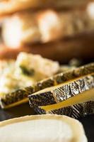 diverse soorten kaas foto