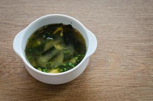 Japanse miso-soep foto