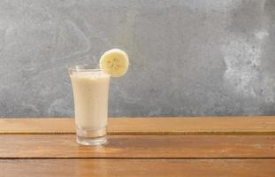 banaan smoothie foto
