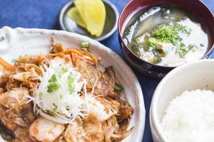 buta kimchi eten foto