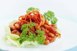 Koreaanse salade foto