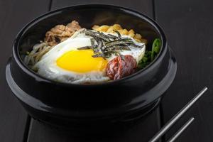 Koreaanse bi bim bap