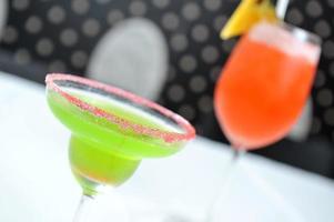 klassieke margarita-cocktail foto