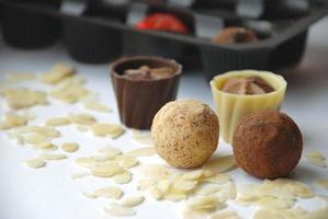 chocolade snoepjes foto