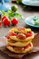 tomatentaart. foto
