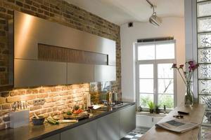 vitrine keuken foto