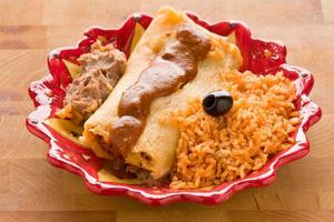 Tamale maaltijd foto