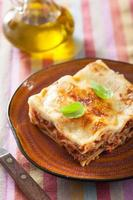 lasagne bolognese foto