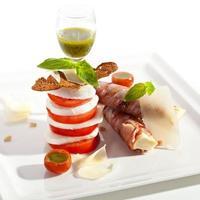 salade caprese foto