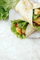heerlijke tortilla foto