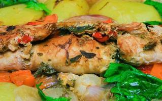gebakken vlees foto
