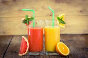 fruit smoothies foto