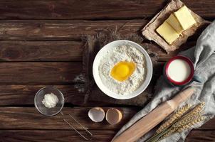 ingrediënten bakken