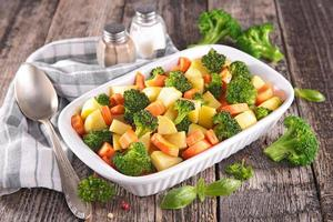 gebakken groente foto