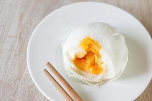 Chinees gestoomd broodje foto