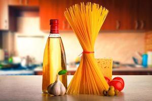 spaghetti recept foto