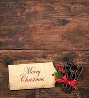 Kerstmenu foto