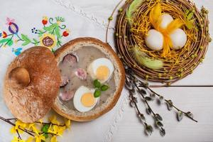 versheid decoratie voor Pasen foto