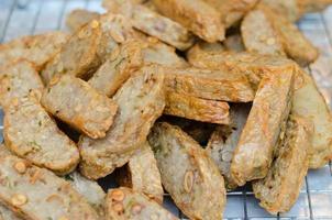 gebakken taro foto