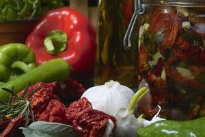 ingemaakte groenten foto