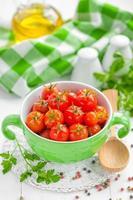 ingemaakte tomaten foto