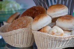 verschillende soorten brood foto
