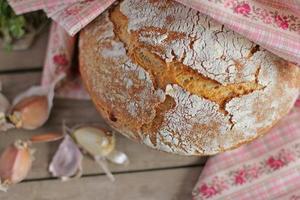 zelfgemaakt brood foto
