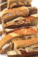 sneetjes brood foto
