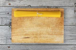 Italiaans eten spaghetti foto