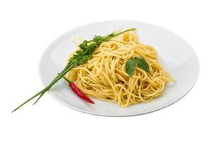 pasta met vier soorten kaas foto